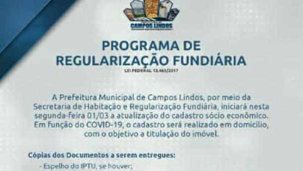 Programa de Regularização Fundiária